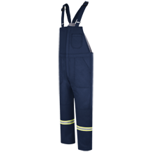 Deluxe Insulated Bib Overall with Reflective Trim - EXCEL FR® ComforTouch®