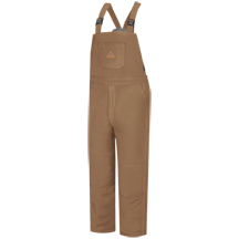 Brown Duck Deluxe Insulated Bib Overall - EXCEL FR® ComforTouch®