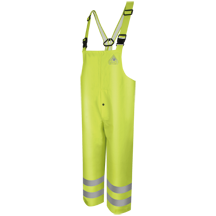 Hi-Visibility Flame-Resistant Rain Bib Overall HRC2