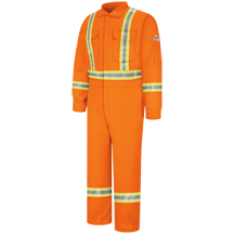Premium Coverall with CSA Compliant Reflective Trim - EXCEL FR® ComforTouch®