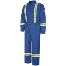 Premium Coverall with Reflective Trim - EXCEL FR® ComforTouch®