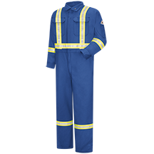 Premium Coverall with Reflective Trim - CoolTouch® 2 - 7 oz.