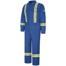 Premium Coverall with Reflective Trim - Nomex® IIIA