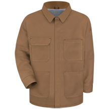 Brown Duck Lineman&#39;s Coat - EXCEL FR&#174; ComforTouch&#174;