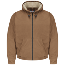 Brown Duck Hooded Jacket - EXCEL FR® ComforTouch®