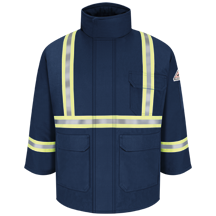 Deluxe Parka With CSA Compliant Reflective Trim - EXCEL FR® ComforTouch®