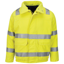 Hi Vis Lined Bomber Jacket with Reflective Trim - CoolTouch®2