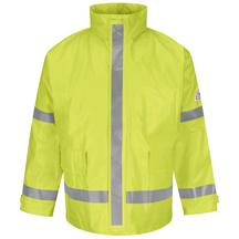 Hi-Visibility Flame-Resistant Rain Jacket