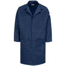 Concealed Snap Front Lab Coat - CoolTouch® 2 - 7 oz.