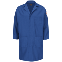 Concealed Snap Front Lab Coat - Nomex® IIIA - 6 oz.