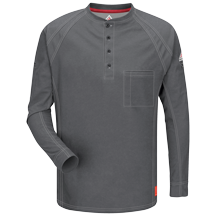 iQ Series™ Long Sleeve Henley