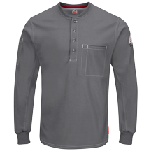 iQ Series® Plus Long Sleeve Henley