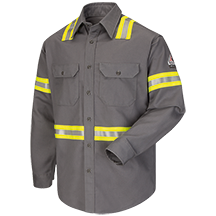 Enhanced Visibility Uniform Shirt - EXCEL FR® ComforTouch® - 7 oz.