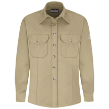 Women's Dress Uniform Shirt - EXCEL FR® ComforTouch® - 7 oz.