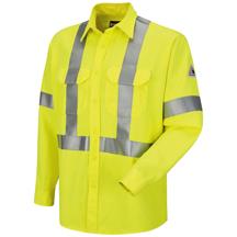 Hi-Visibility Uniform Shirt with CSA Reflective Trim - CoolTouch® 2 - 7 oz.
