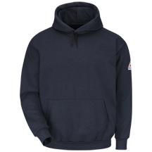 Pullover Hooded Fleece Sweatshirt - Modacrylic Fleece