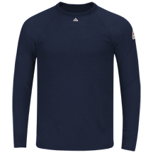Long Sleeve Tagless T-shirt - Power Dry&#174; FR