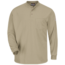 Long Sleeve Henley Shirt - Nomex® IIIA