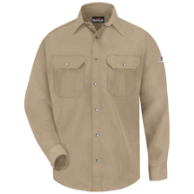 Snap-Front Uniform Shirt - Nomex&#174; IIIA - 4.5 oz.