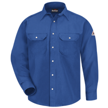 Snap-Front Uniform Shirt - Nomex&#174; IIIA - 6 oz.