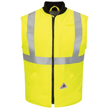 Hi Vis Insulated Vest with Reflective Trim - CoolTouch®2