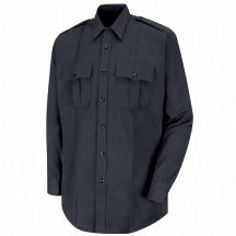 Product Shot - New Dimension® Plus Long Sleeve Twill Shirt