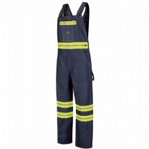 Product Shot - Enhanced Visibility Denim Bib Overall