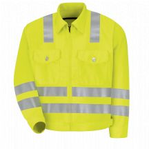 Product Shot - Hi-Visibility Ike Jacket - Class 3 Level 2