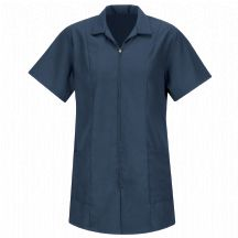 Product Shot - Women&#39;s Zip-front Smock