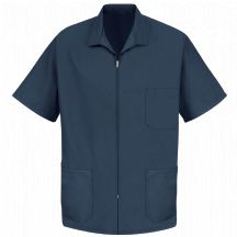 Product Shot - Men&#39;s Zip-front Smock