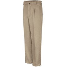 Pleated Front Cotton Pant