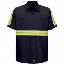 Product Shot - Enhanced Visibility Cotton Work Shirt