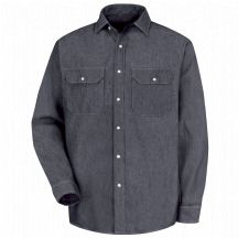 Product Shot - Men's Deluxe Denim Shirt