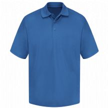 Product Shot - Men's 100% Polyester Mesh Polo