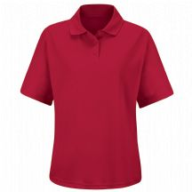 Product Shot - Women's 100% Polyester Mesh Polo