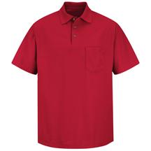 Cotton / Polyester Blend Pique Knit Shirt