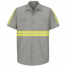 Product Shot - Enhanced Visibility Industrial&#160;Work Shirt 