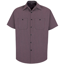 Short Sleeve Durastripe<sup>®</sup> Work Shirt