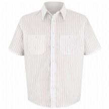 Product Shot - Men&#39;s Striped Dress Uniform Shirt