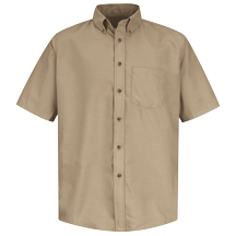Short Sleeve Poplin Dress Shirt
