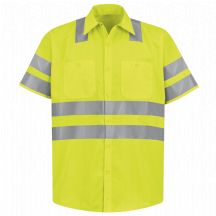 Product Shot - Hi-Visibility Work Shirt - Class 3 Level 2