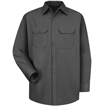 Long Sleeve Utility Uniform Shirt