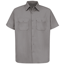 Short Sleeve Utility Uniform Shirt