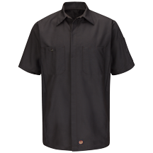 Men's Solid Crew Shirt