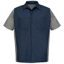 Men's Two-Tone Crew Shirt