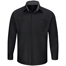 ed6ac4676a Men's Long Sleeve Performance Plus Shop Shirt with OilBlok Technology
