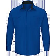 Men's Performance Plus Shop Shirt with OilBlok Technology