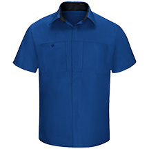 Men's Performance Plus Shop Shirt with OilBlok Technology