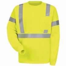 Product Shot - Hi-Visibility Long Sleeve T-Shirt