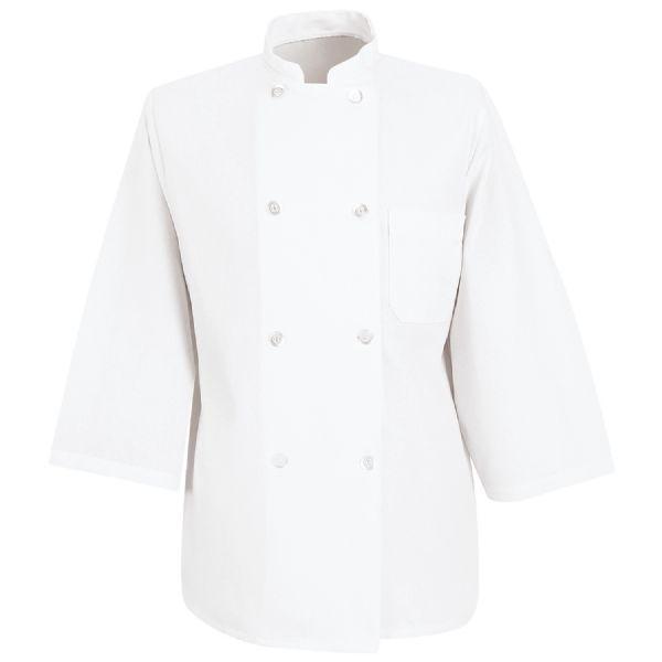 Product Shot - ¾ Sleeve Chef Coat